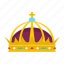 crown, king, luxury, nobility, prince, queen, royal icon