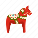 child, childhood, horse, kid, play, toy, wood icon