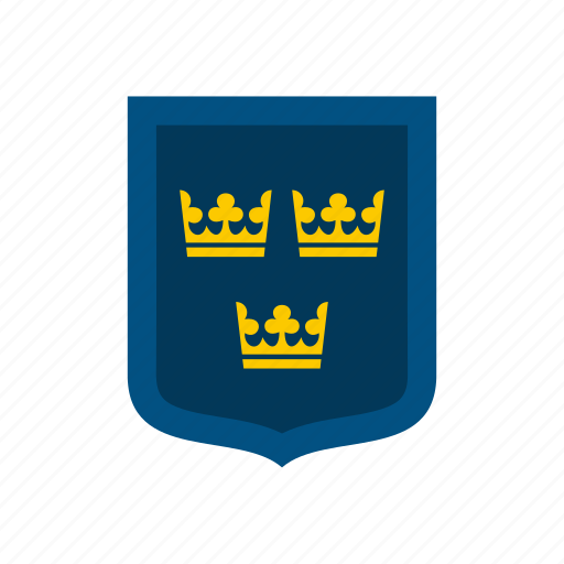 Arms, coat, country, flag, national, sweden, swedish icon - Download on Iconfinder