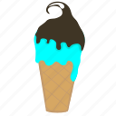 cake cone, cone, cream, cup cone, frozen dessert, ice, ice cream icon