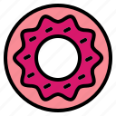 bakery, donut icon