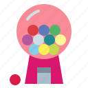 candies, candy, candy machine, gum icon