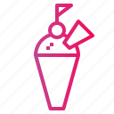 ice cream cone, cone, dessert, ice cream icon