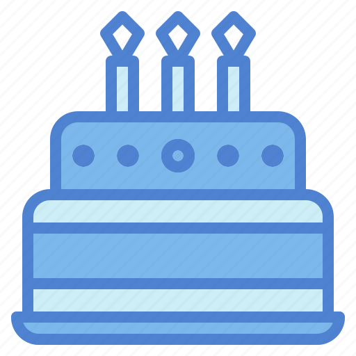 bakery, birthday, cake, candles icon