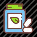 candy, leaf, mint, sweet icon