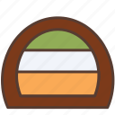 bakery, cake, dessert, roll, roll cake, sweet icon