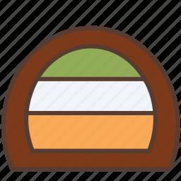 bakery, cake, dessert, roll, roll cake, sweet icon