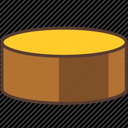bake, bakery, basic, cake, drum, sweet icon