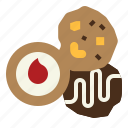 baked, bakery, biscuit, cookie, cookies icon