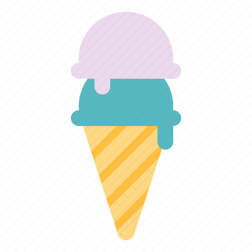 Cold, cone, dessert, icecream, sweet icon - Download on Iconfinder