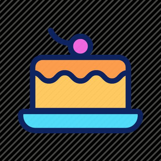 bakery, berry, cake, cheesecake, dessert icon