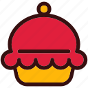 cup cake, dessert, food, happiness, muffin, sweets icon