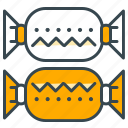 candy, snack, sweets, treat, wrapped icon