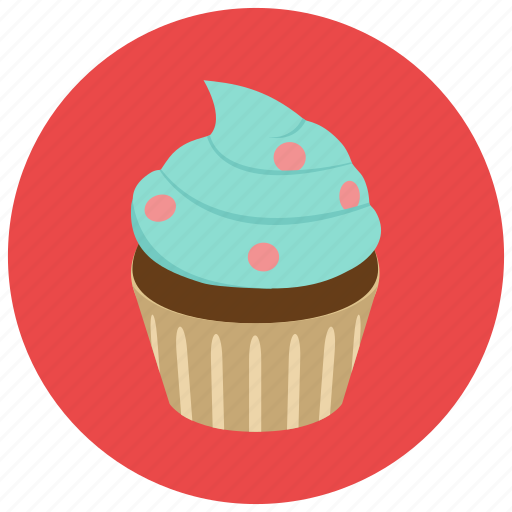 baked, bakery, cake, creamy, cupcake, dessert, pastry, sweet, sweets icon