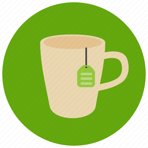 beverage, drink, hot drink, sweets, tea, tea bag, tea cup icon