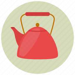 beverage, drink, hot drink, kettle, sweets, tea, tea pot icon