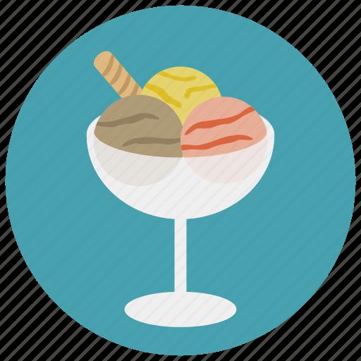 cream, dessert, gelato, ice cream, sweet, sweets icon