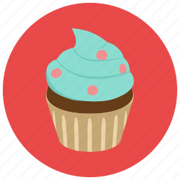 bake, cupcake, frosting, sweets icon