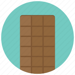 bar, chocolate, square, sweets icon