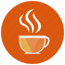 coffee, drink, drinks, hot, steam, sweets, tea icon