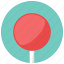 circl, lollipop, round, stick, sweets icon