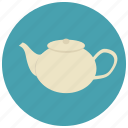 drinks, kettle, sweets, tea icon