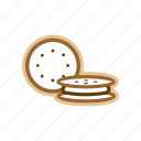 biscuit, candy, food, sugar icon
