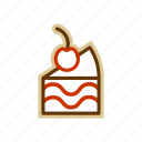 cake, candy, food, sugar icon