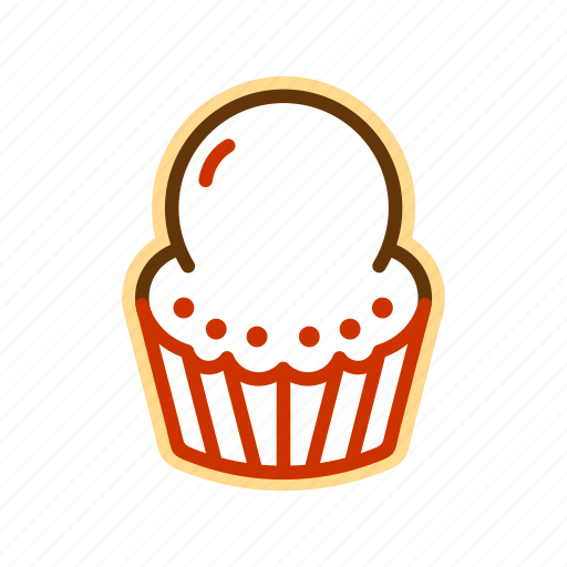 candy, cupcake, food, sugar icon