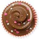 brown, cake, cupcake, muffin icon