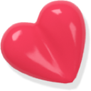heart, love, pink icon