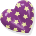 heart, love, purple icon