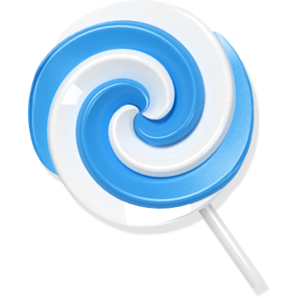 blue, candy, lollypop icon