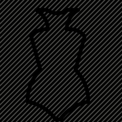 bodysuit, clothes, fashion, suit, summer, swimsuit, vacation icon