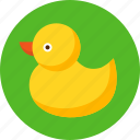 beach, duck, summer, swim, swimming, vacation icon