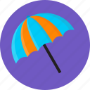 summer, swim, swimming summer, umbrella icon