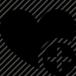 add, bookmark, favorites, heart, like, love icon