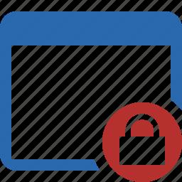 app, application, applications, interface, lock, window icon