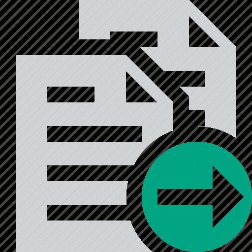 copy, documents, duplicate, files, next, paste icon