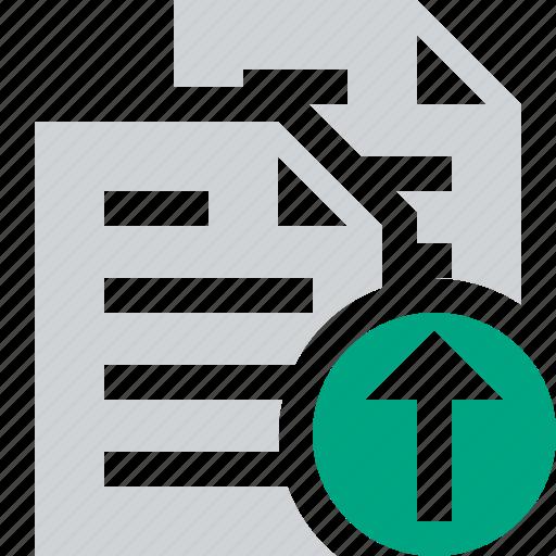 copy, documents, duplicate, files, paste, upload icon