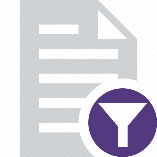 document, file, filter, paper, text icon