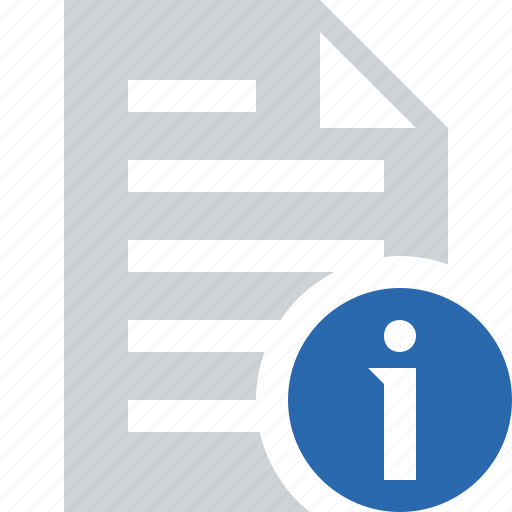 document, file, information, paper, text icon