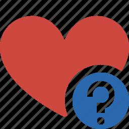 bookmark, favorites, heart, help, like, love icon