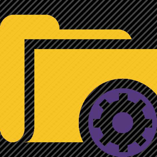 category, file, folder, open, settings icon
