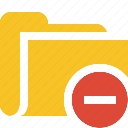 category, file, folder, open, stop icon
