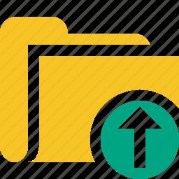 category, file, folder, open, upload icon