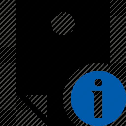 document, information, memo, note, pin, reminder, sticker icon