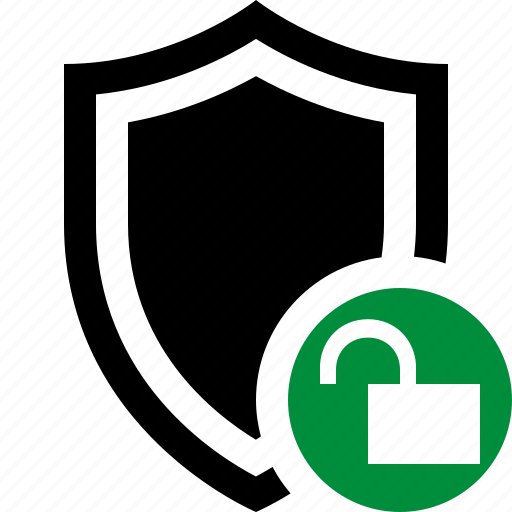 protection, safety, secure, security, shield, unlock icon