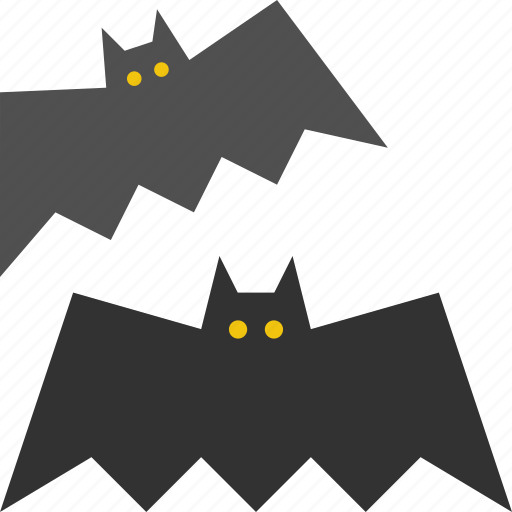 bats, fly, halloween, scary, vampire icon