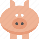 barn, farm, mud, oink, pig, piglet icon